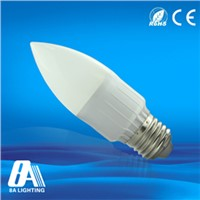 3W LED Light Candle Bulbs Diffusion Cover With Color Temparature