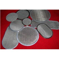 50 micron stainless steel round screens, ss mesh filter discs