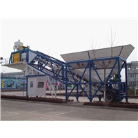 China Hot Sale Minrui YHZS75 Mobile Concrete Batching Plant