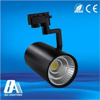 Commercial COB 20W adjustable LED Track Lamp With CCT 2800-6500K For Gallery