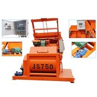 Minrui JS750 Twin Shaft Concrete Forced Concrete Mixer