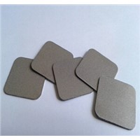 Sintered powder square filter disc