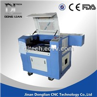 Co2 water cooling spindle laser cutting machine 6090