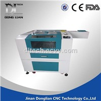 laser cutting machine low price / 1290 co2 laser cutter with RECI laser tube DL-1290 150w