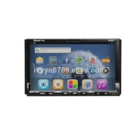 "2 Din 7"" Universal Car DVD Player With Android, GPS, Bluetooth,RDS,IPOD, Radio"