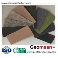350gsm Staple PET/PP needled punched non woven geotextile fabric