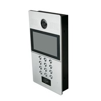 New products ip video door phone touch keypad types of intercoms