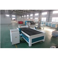 3d wood carving machine CNC router also can engrave the aluminum with tank