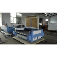 China new product doulble head auto feeding laser cutting machine 1410