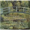 The Waterlily Pond by Claude Oscar Monet Oil Painting Reproduction on Canvas