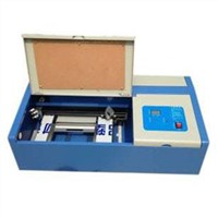 ES-40B Mini Desktop Laser Engraving Stamp Machine