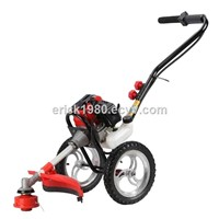 Hand-pushed brush cutter grass trimmer mower weedeater