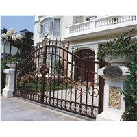 Wrought iron gates HT-G030