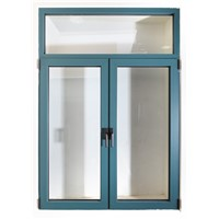 Powder coated aluminum window
