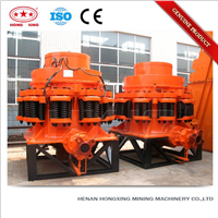 Tertiary construction waste granite spring cone crusher