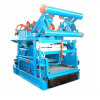 Oil drilling mud solids control mud cleaner