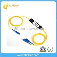 2.0mm 1x2 fbt coupler / fiber splitter