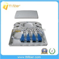 4 Port Fiber Optic Distribution patch Box for Data communications networks