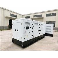 500KVA water cooled low noise diesel generators with AC alternator