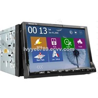 YHT-201WG  Car DVD Player Built-In BT & GPS 2-Din 7""