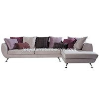 Modern living room L shaped sofa corner leather sofa  counch sofa fabric sofa
