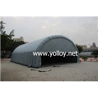 Outdoor inflatable sport hall and workshop