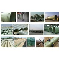 Fiberglass High Strength FRP Winding Cable Protection Pipe/Grpducts