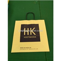 white kraft paper shopping bag for promotion