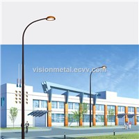 factory price street custom stainless steel light pole