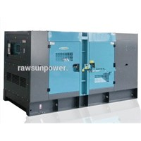 250KVA water cooled low noise diesel generators with AC alternator