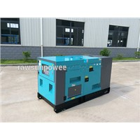 25KVA water cooled low noise diesel generators with AC alternator