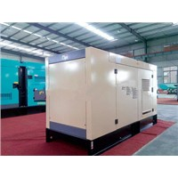 400KVA water cooled low noise diesel generators with AC alternator