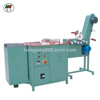 narrow fabric festooning packing machine