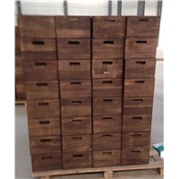 high quality wooden bins