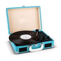 Vinyl Suitcase Style Turntable Record Player Home Turntable Vinyl Player