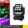 9pcs 10w matrix led moving head , moving head led stage light