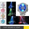 Home party disco led effect light ,8pcs 3w led gobo spot light