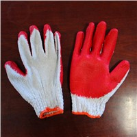 10 gauge latex coated gloves