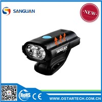 usb rechargeable bike front light rear light, aluminium rechargeable bike light