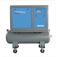 Best quality mobile air compressor on tank for sale 7-13bar