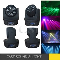 China LED stage light 6pcs 10w bee eye led moving head beam