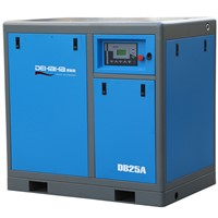 18.5kw motor electric drive compressed rotary Air Compressor with big capacity