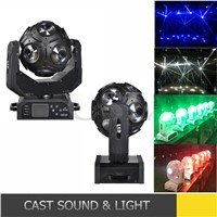 Infinite Rotating Football Head 12X15W LED Moving Head Beam Light