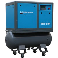 Large-scale Professional Portable Belt Screw Compressor on tank
