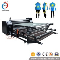 Manufacturer Roller Heat transfer printing machine for fabric, Roll to Roll