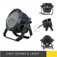 Outdoor led stage light ,54*3W 3in1 waterproof led par can