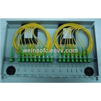 "Rack-Mount 19"" Fiber Optic PLC Splitters Box"