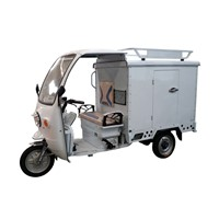3 Wheel Electric Van Truck With Cabin For Delivery
