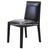 Ash Solid Wood Dining Chair High Quality Fabric Dining Chair Real Leather Armchair Desk Chair