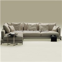 Modern Living Room L Shaped Sofa High Quality Fabric Sofa Counch Sofa